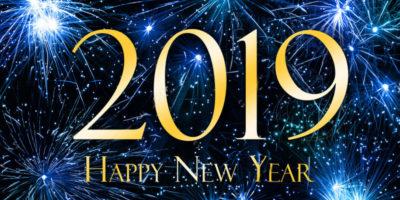 Joyeuse année 2019 !