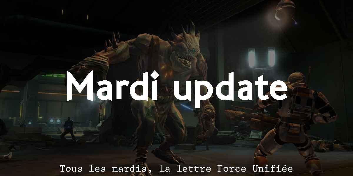 Mardi update semaine 32 2020