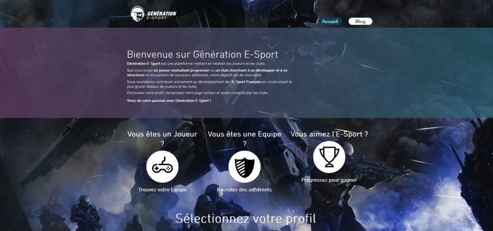 Génération E-Sport