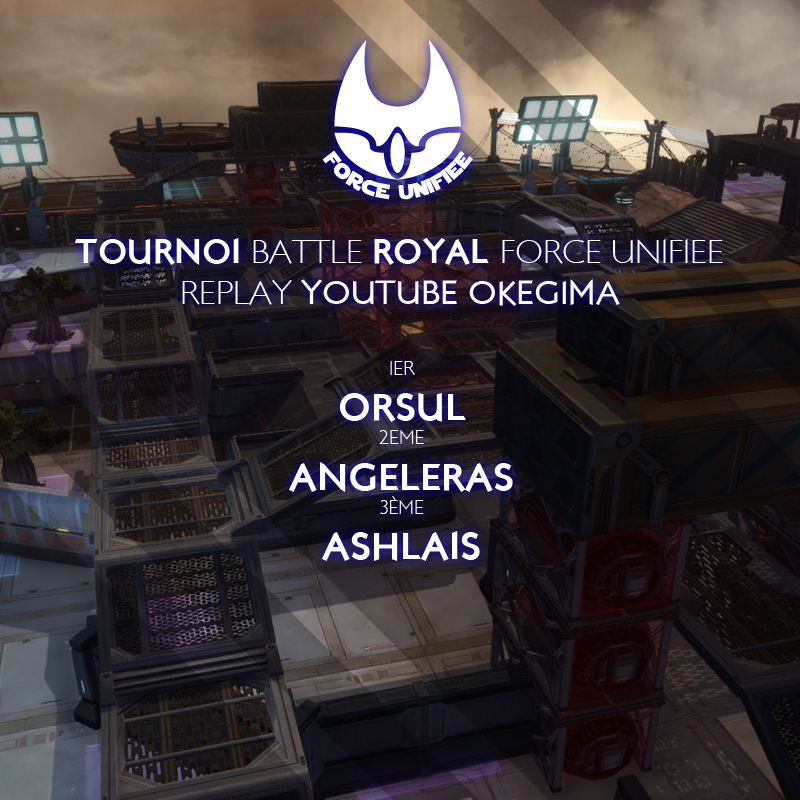 Tournoi battle royal Force Unifiée, la conclusion