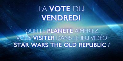 Le vote du vendredi