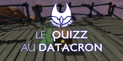 Concours, le quizz au datacron