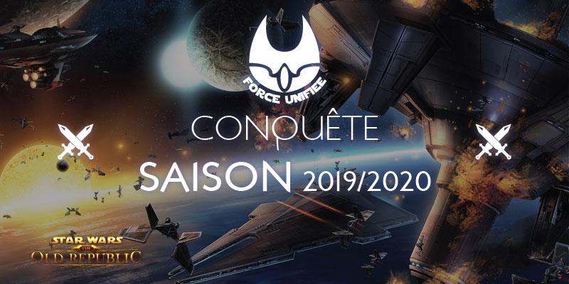 Fin de conquête, saison 2019 2020