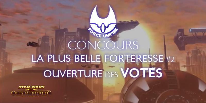 La plus belle forteresse #2, ouverture des votes