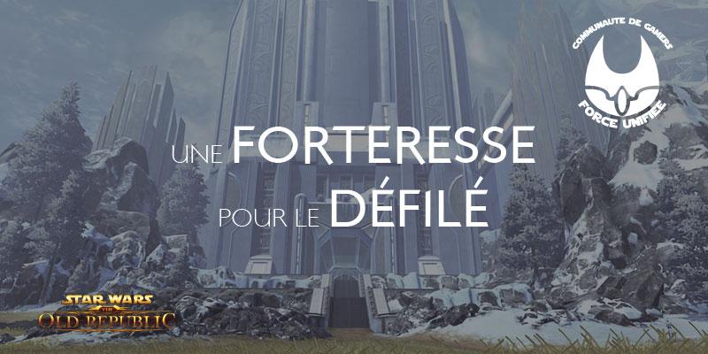 Concours une forteresse pour le défilé