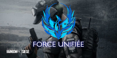 La team Force Unifiée Rainbow Six