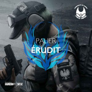 Rainbow Six palier érudit