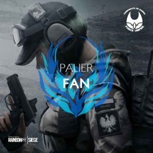 Rainbow Six palier fan