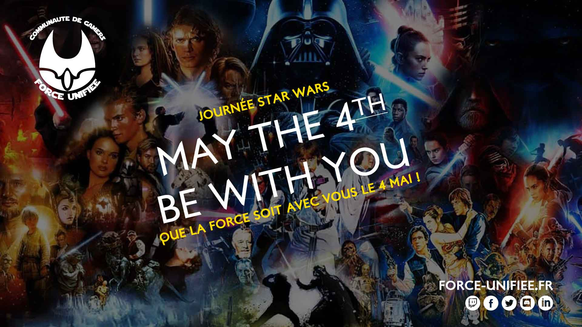 May the 4th be with you, Bad Batch t'attend !
