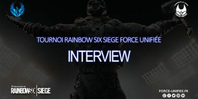 Tournoi Rainbow Six Force Unifiée, interview de la team Dragonempyre