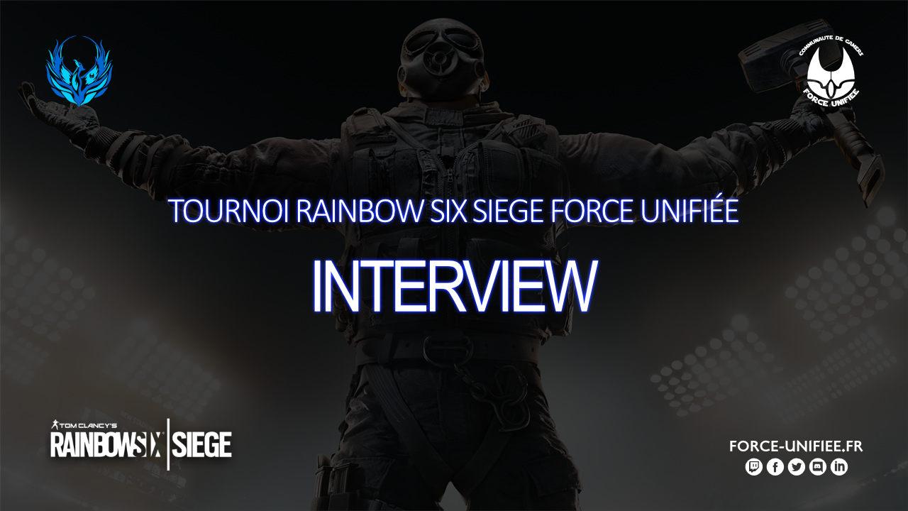 You are currently viewing Tournoi Rainbow Six Force Unifiée, interview de la team Dragonempyre