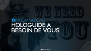 Read more about the article Hologuide a besoin de vous !